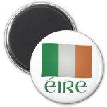 Irish Flag - éire 2 Inch Round Magnet