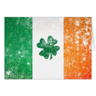 Irish Flag Greeting Card