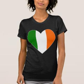 Irish Flag Heart Valentine Shirt