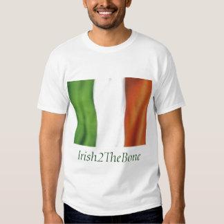 irish flag, Irish2TheBone Shirt