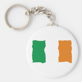 Irish Flag Key Chains