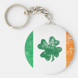 Irish Flag Key Chain