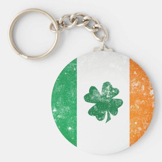 Irish Flag Keychain