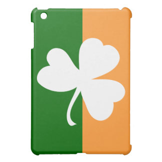 Irish Flag Lucky Clover -  iPad Mini Cover
