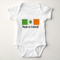 Irish Flag 'Made In Ireland' Baby Bodysuit