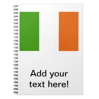 Irish Flag Notebook