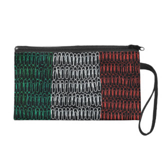 Irish Flag of Paperclips Wristlets