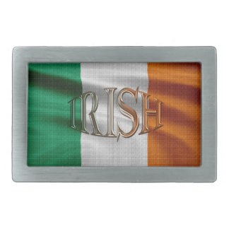 Irish Flag Patriotic Belt Buckle