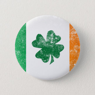 Irish Flag Pinback Button