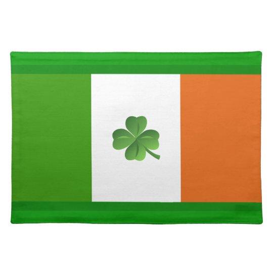 Ireland Cork Placemat Shamrock Green