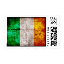 Irish Flag Postage Stamp