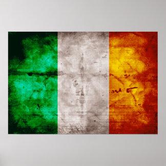 Irish Flag Poster