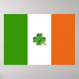 Irish flag poster* poster