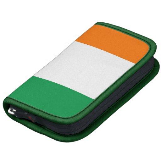 Irish Flag Rickshaw Folio Organizer