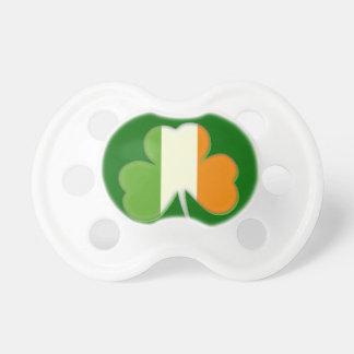 Irish Flag Shamrock Pacifier