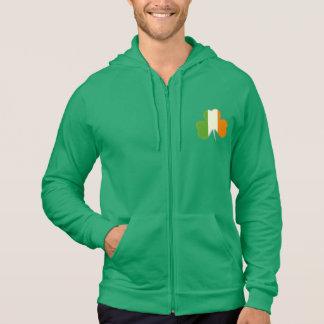 Irish Flag Shamrock Sweatshirt