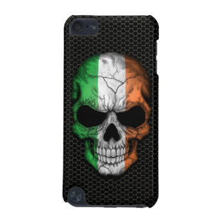 Irish Flag Skull on Steel Mesh Graphic iPod Touch (5th Generation) Cover