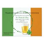 Irish Flag St. Patrick's Day Invitation