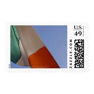 Irish flag stamp