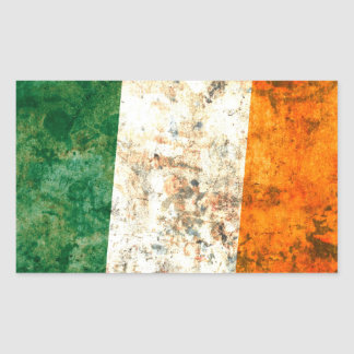 Irish Flag Rectangular Sticker