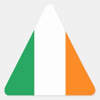 Irish Flag Triangle Sticker