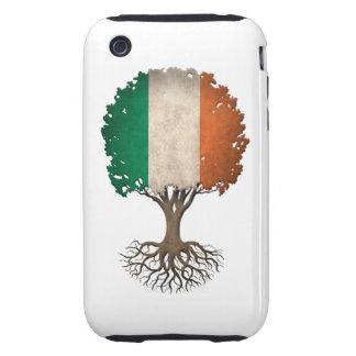 Irish Flag Tree of Life Customizable Tough iPhone 3 Case
