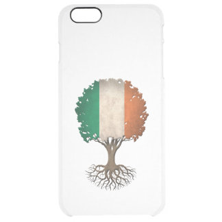 Irish Flag Tree of Life Customizable Uncommon Clearly™ Deflector iPhone 6 Plus Case