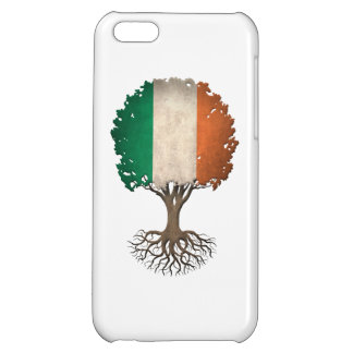 Irish Flag Tree of Life Customizable iPhone 5C Cases