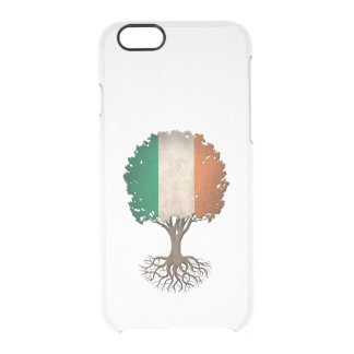 Irish Flag Tree of Life Customizable Uncommon Clearly™ Deflector iPhone 6 Case