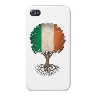 Irish Flag Tree of Life Customizable iPhone 4/4S Case