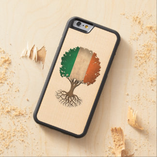 Irish Flag Tree of Life Customizable Carved® Maple iPhone 6 Bumper Case