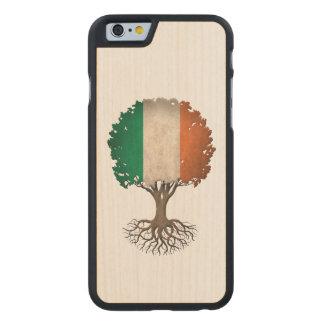 Irish Flag Tree of Life Customizable Carved® Maple iPhone 6 Case