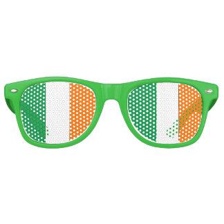 Irish Flag - Wayfarer Party Shades! Retro Sunglasses