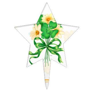 IRISH FLOWER CARTOON STAR Cakepick