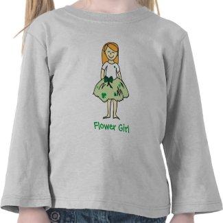 Irish Flower Girl T-shirt from lesruba weddings