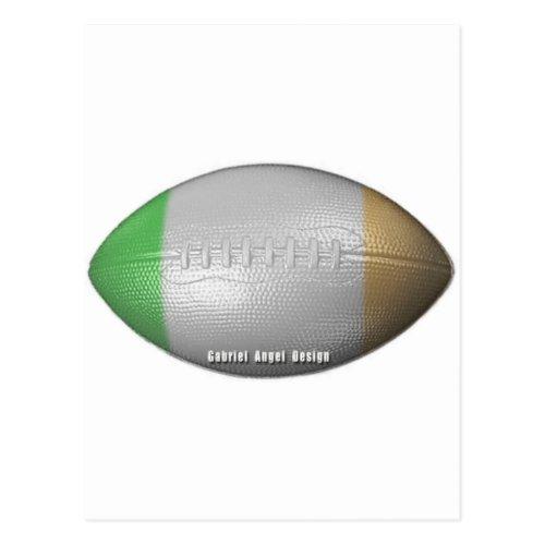 Irish Football Postcard