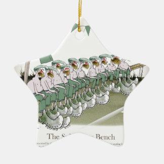 irish football substitutes ceramic ornament