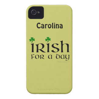 Irish for a Day Funny iphone 4g Personalized Case