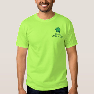 Irish for a Day  Ireland Embroidered T-Shirt