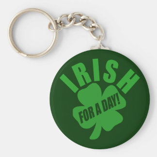 Irish For A Day! Keychains