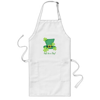 Irish for a Day St. Patrick's Day Celebration Long Apron