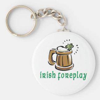 Irish Foreplay Gift Keychain