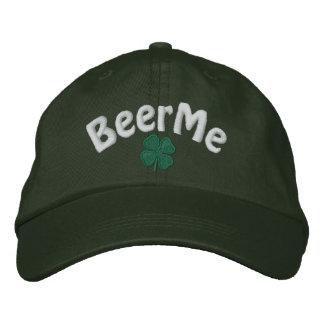 Irish - Four Leaf Clover - Customized Embroidered Baseball Cap