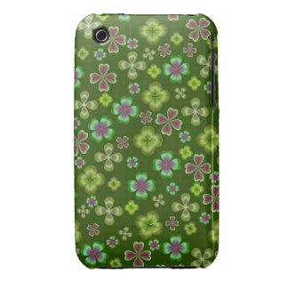 Irish Four Leaf Clover iPhone 3 Case