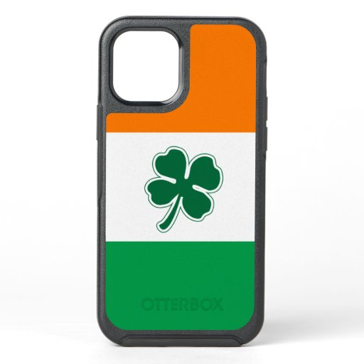 Irish Four Leaf Clover OtterBox Symmetry iPhone 12 Case