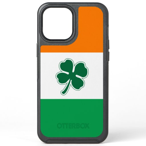 Irish Four Leaf Clover OtterBox Symmetry iPhone 12 Pro Max Case