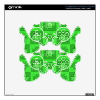 Irish Four-Leaf Clover Skins For PS3 Controllers