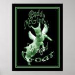 Irish Framed Print McGinty's Green Goat Art Print