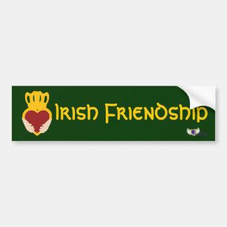 Irish Friendship St. Patrick's Day  Bumper Sticker