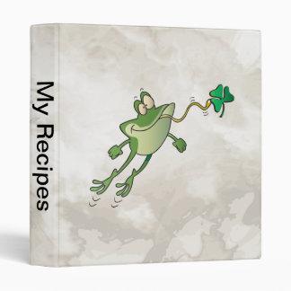 Irish Frog Binder